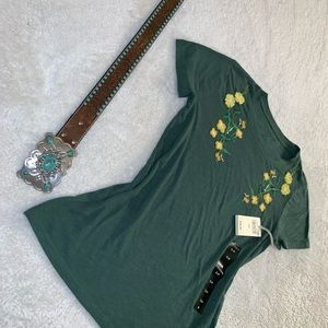 Lucky Brand Tops - NWT Lucky Brand Embroidered Top